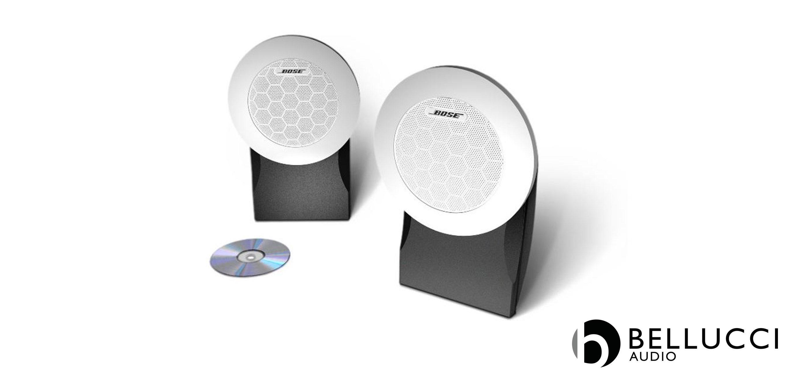 Bellucci audio bose diffusori da esterno e marini for Casse bose per tv